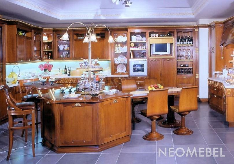 Фото Кухня Premiere с рабочей зоной из белого мрамора