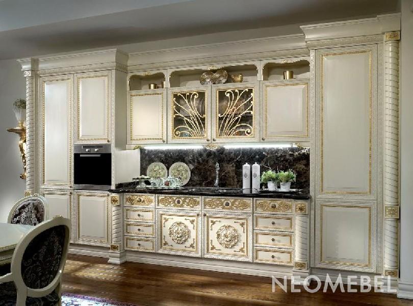 Фото Кухня Belle Epoque в классическом стиле