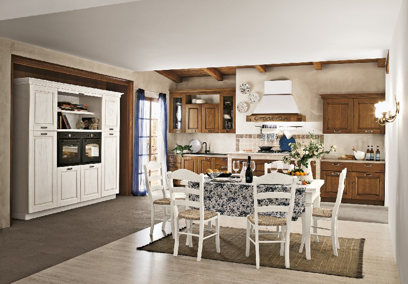 Фото Кухня в стиле прованс «CONTRADA»