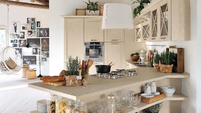 Фото Кухня в стиле прованс «AGNESE»