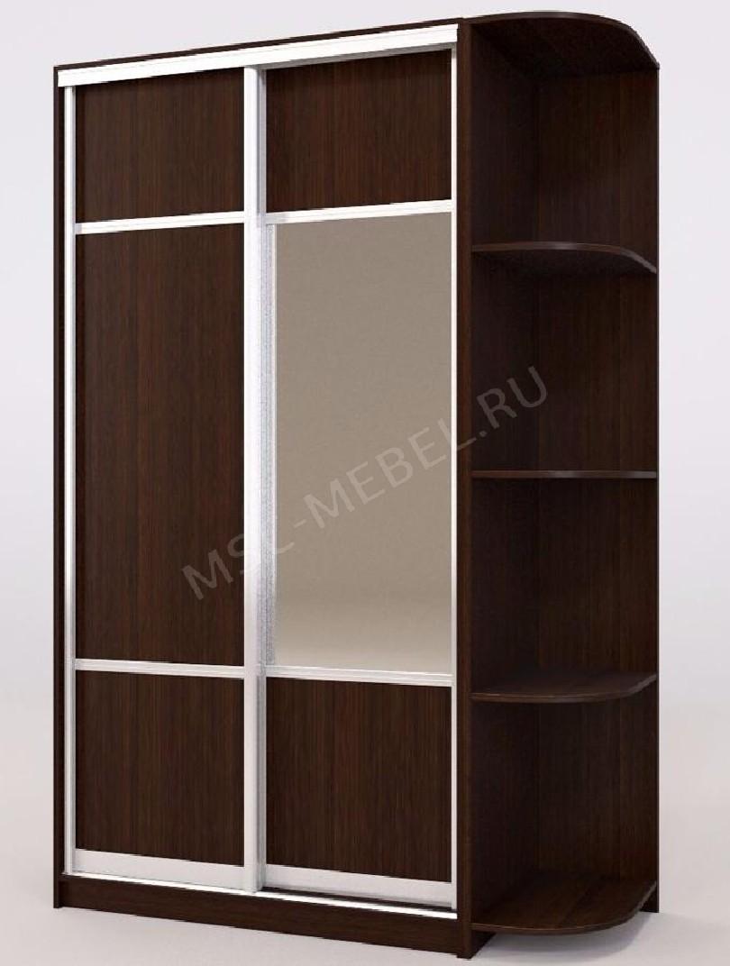 Фото Премьер 110 зеркало 1/2 бук тироль шоколадный роникон