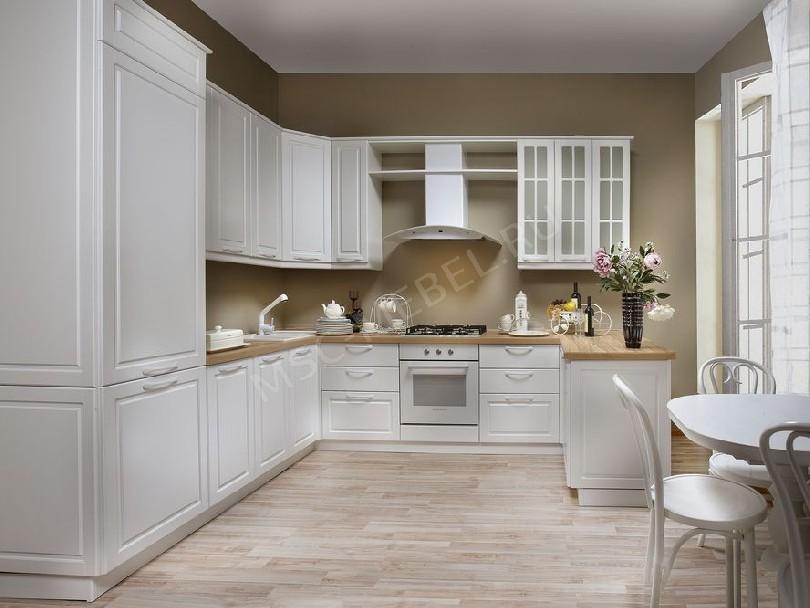 Фото Кухня в скандинавском стиле «Хризантема»