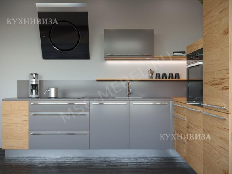 Фото Встроенная угловая кухня Альберо