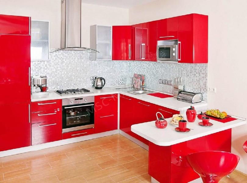 Фото Угловая модульная кухня Выгода (артикул 64)