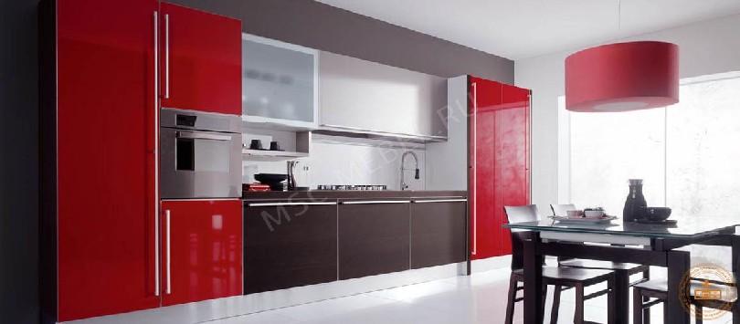 Фото Кухня из пластика «Мальвина»