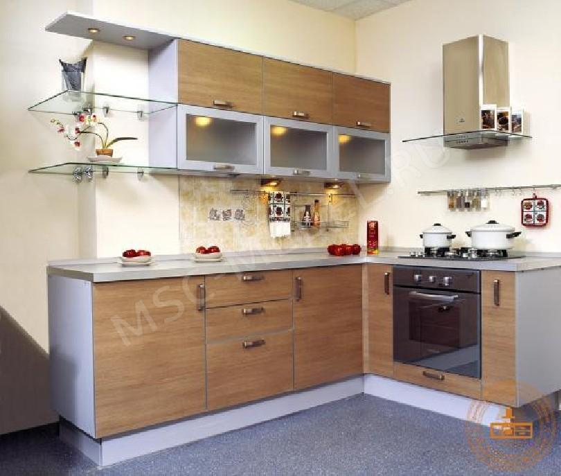 Фото Кухня из пластика «Бук традиционный»