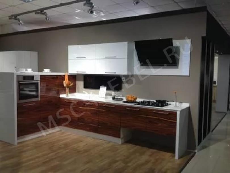 Кухня из пластика «Палисандр Сантос»