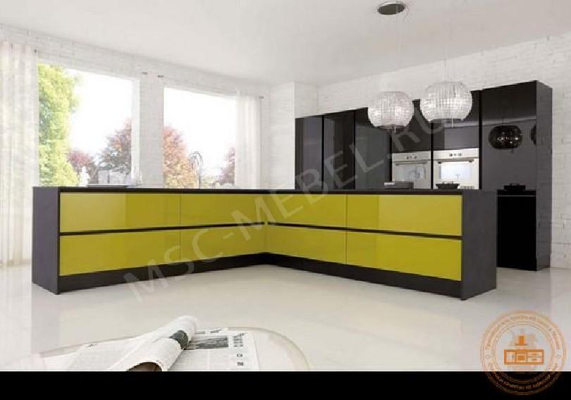 Фото Кухня из пластика «Маэстро»