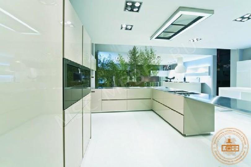 Фото Кухня из пластика «Северный день»