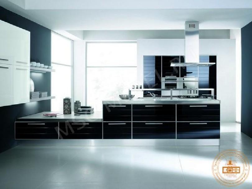 Фото Кухня из пластика «ХайТек»