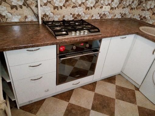 Кухня из пластика «Веста»