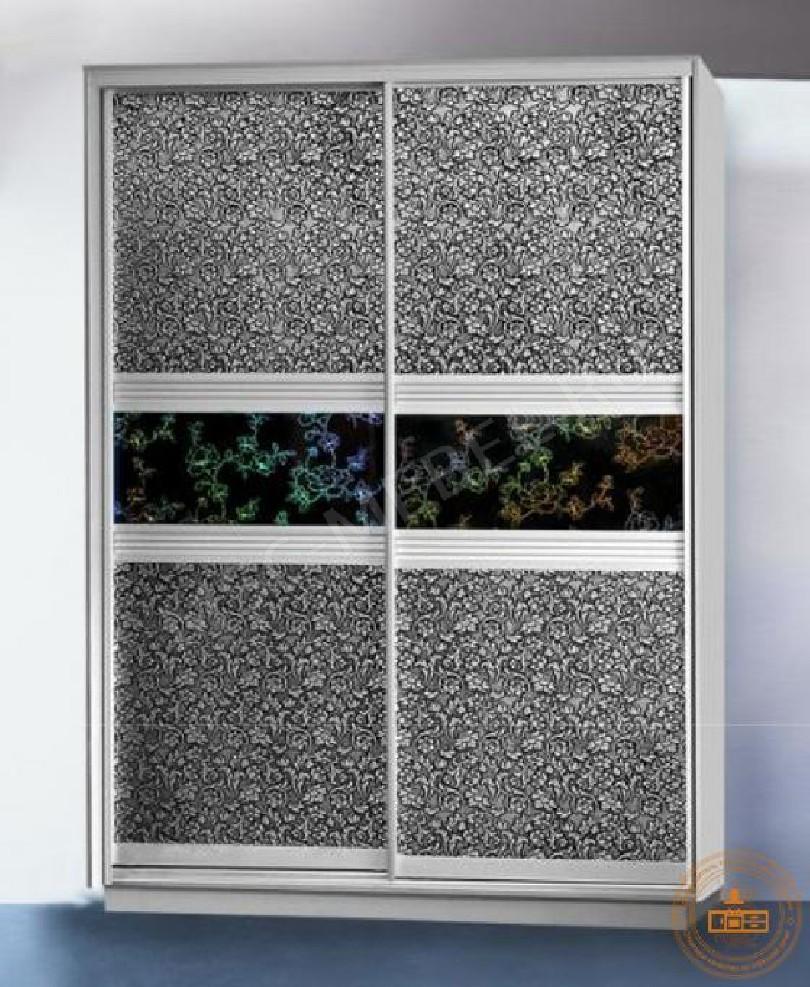 Фото Шкаф-купе «декоративное стекло»