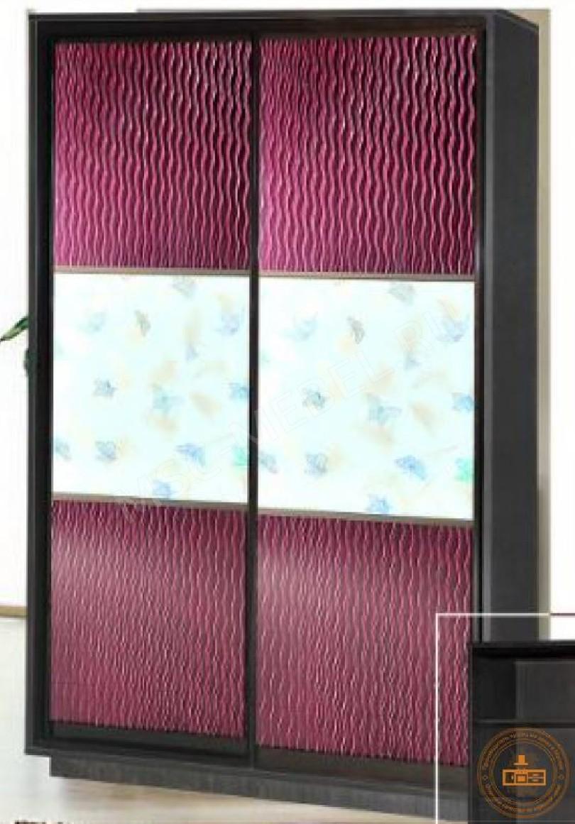 Фото Шкаф-купе «с декоративным стеклом»