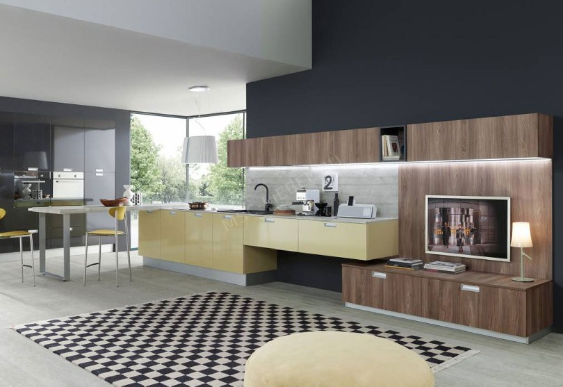 Фото Кухня в стиле минимализм «Евроклассик»
