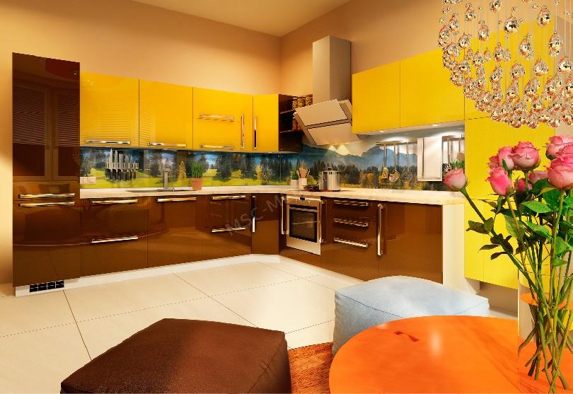 Кухни в стиле хай-тек «Катрин»