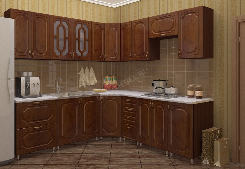Кухни в стиле кантри «Жасмин»