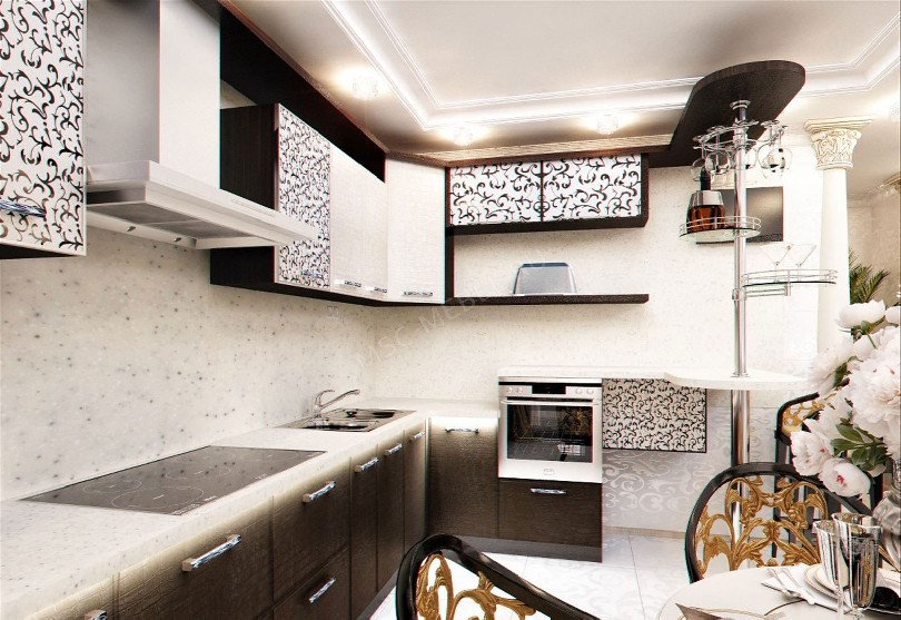 Фото Белая кухня «Арт»