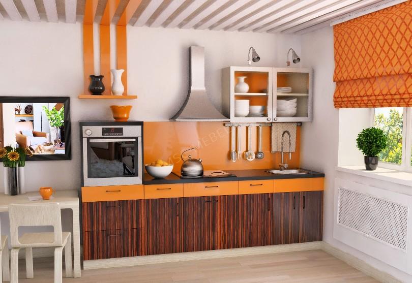 Фото Маленькая прямая кухня Ульяновск