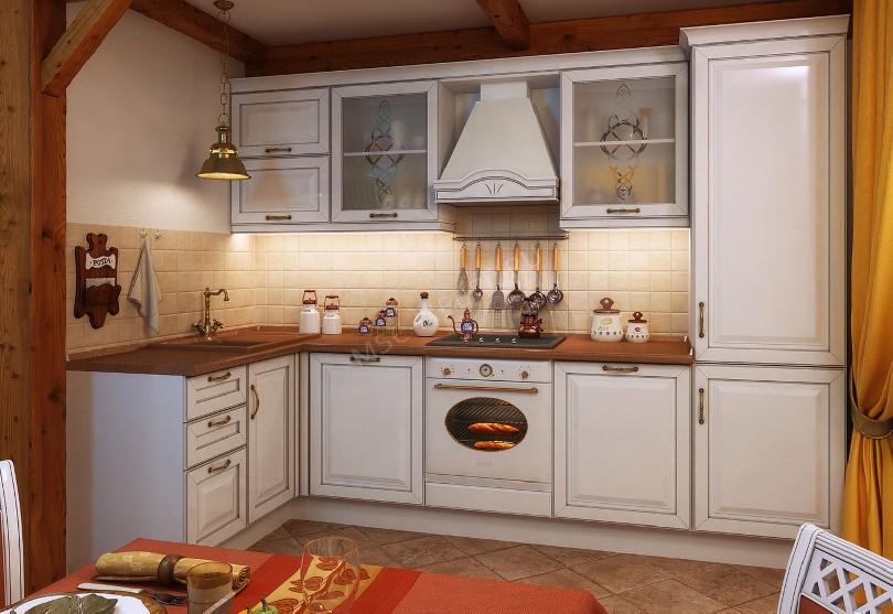 Кухня в английском стиле «Место»