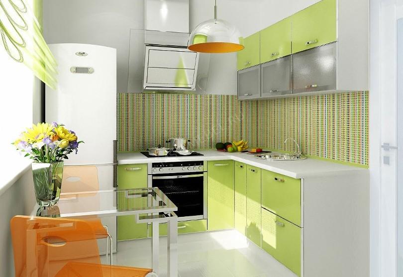 Кухня в стиле модерн Мерлен