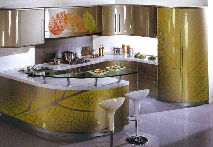 Фото Кухня в стиле модерн «Осень»