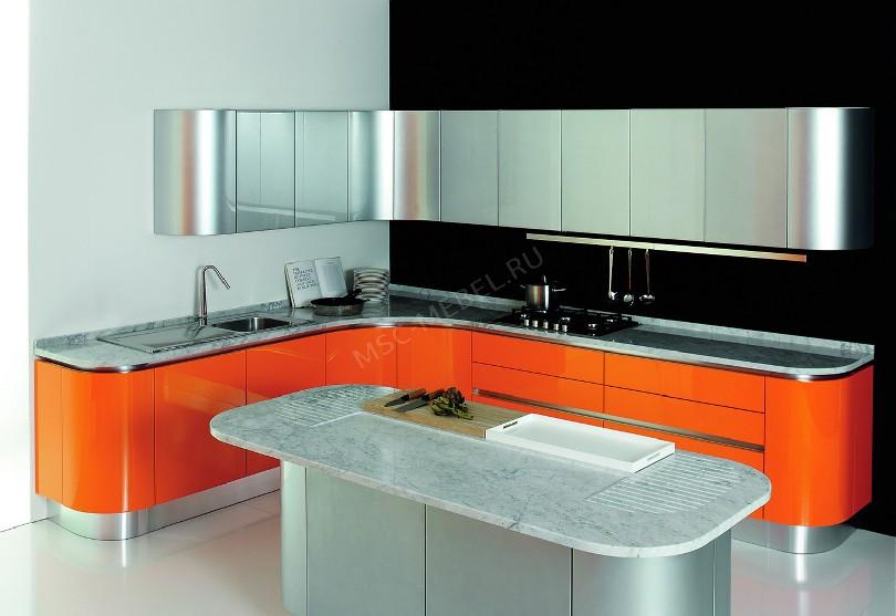 Фото Модерн кухня «Бобр»