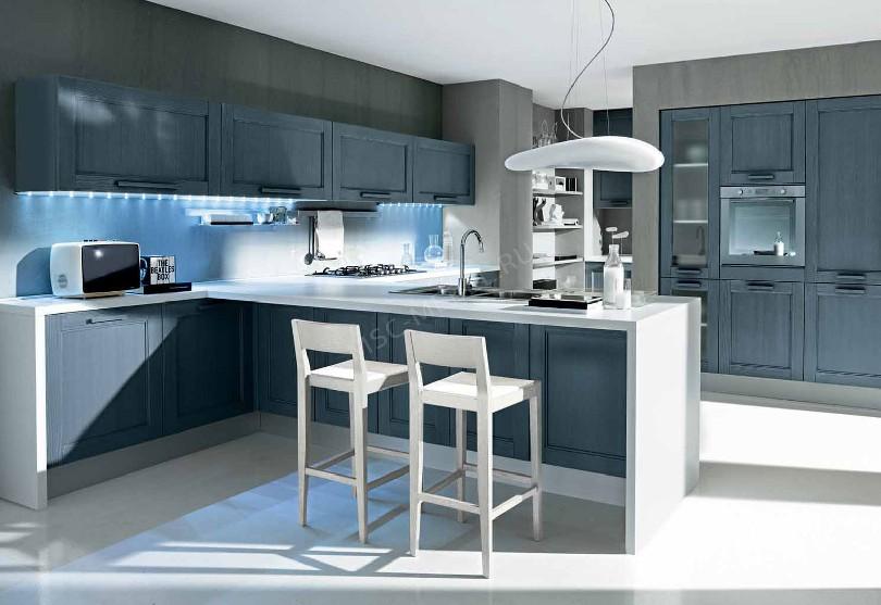 Кухня в стиле модерн «Завтра»