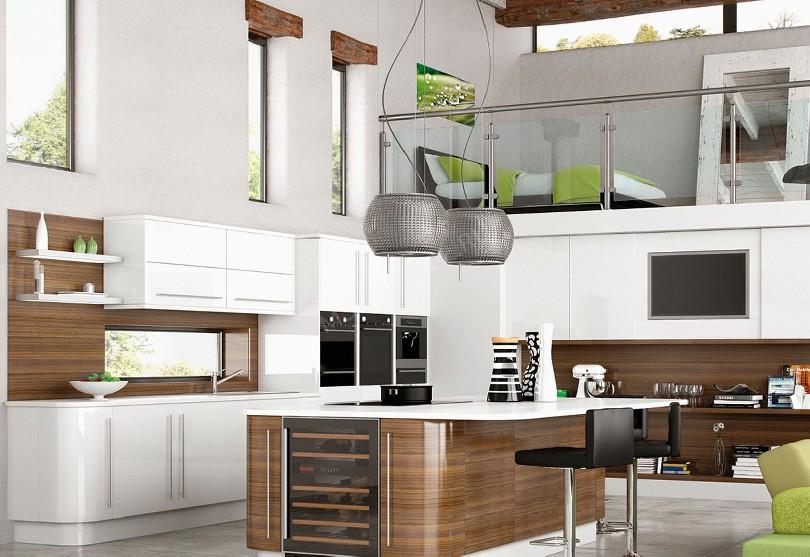 Фото Модерн кухня «Belfan»