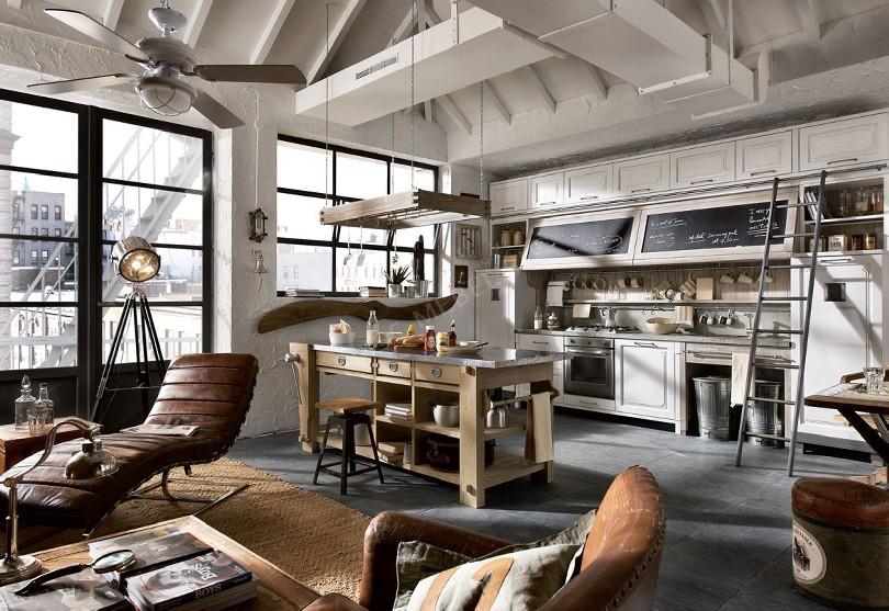 Фото Кухня Marchi Group Nolita для квартиры студии