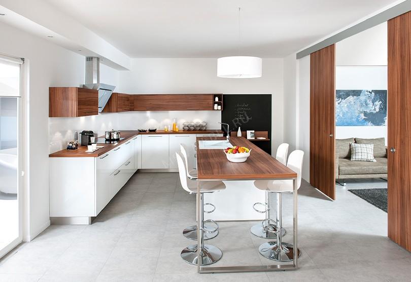 Фото Кухня из пластика «Кухня Schmidt»
