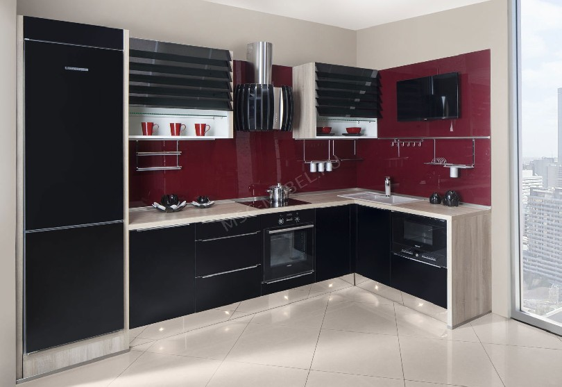 Кухня в стиле модерн Bravo