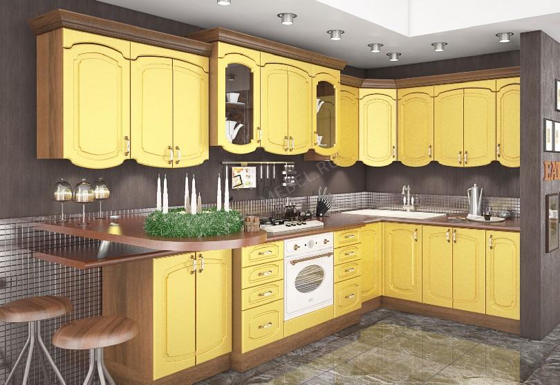 Кухня в стиле кантри Эмилия