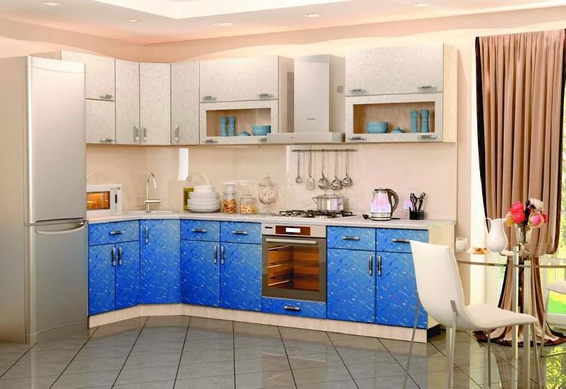 Маленькая кухня Лаванда