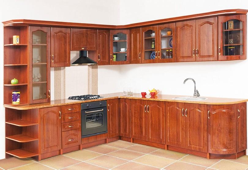 Фото Угловая кухня Оля в стиле Прованс