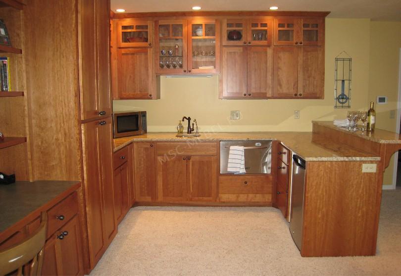 Фото Кухня Дэлия с барной стойкой