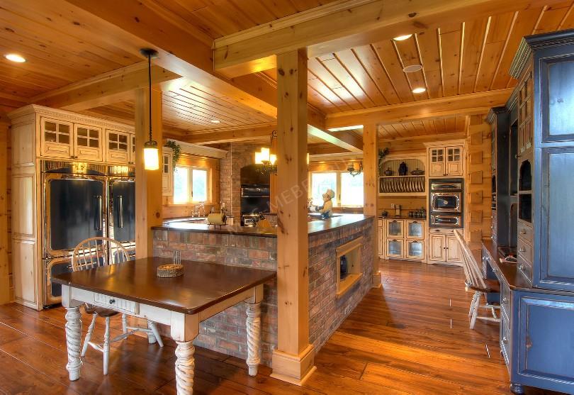 Фото Кухня Timber в стиле кантри