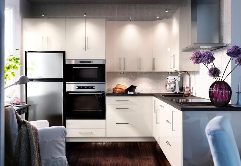 Фото Угловая кухня Alvic Luxe в скандинавском стиле