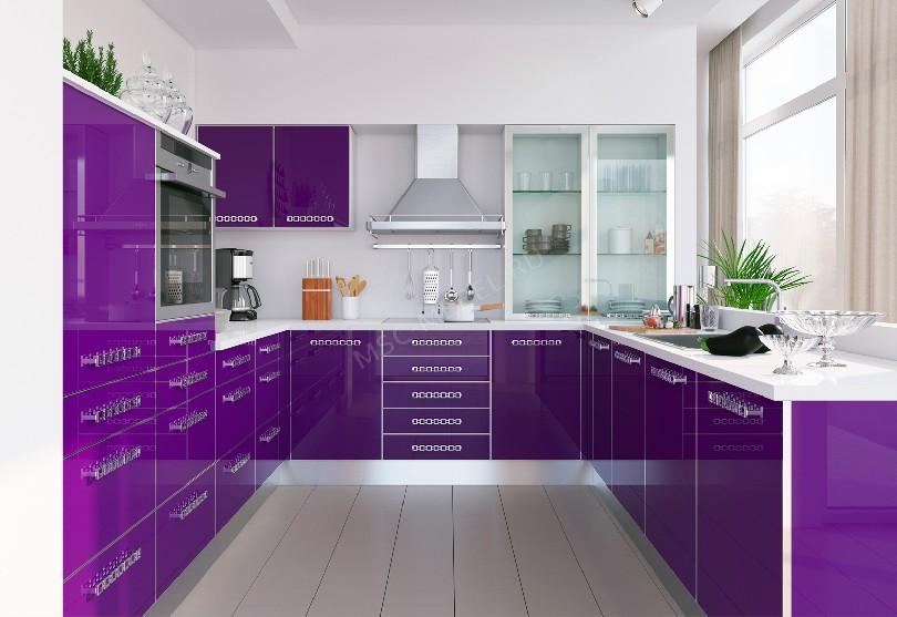 Фото Кухня в скандинавском стиле «Виолетта»