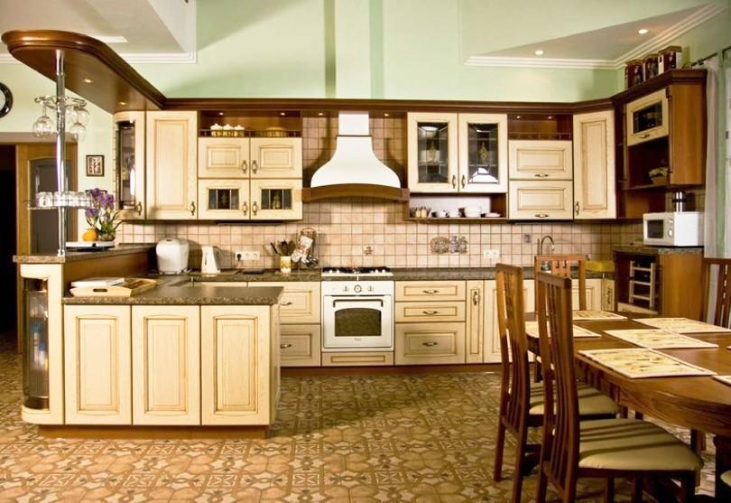 Кухня в американском стиле «Позитано»
