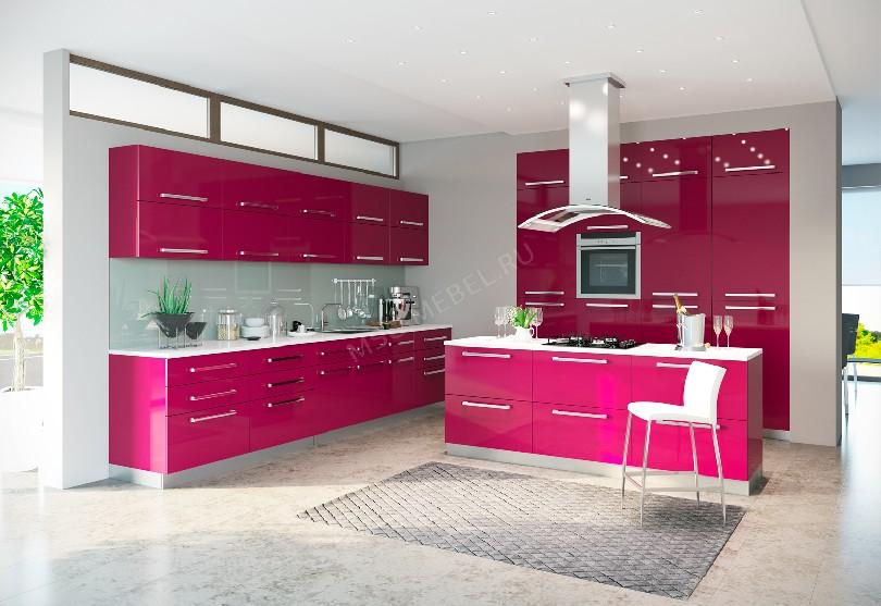 Модерн кухня «Малина»