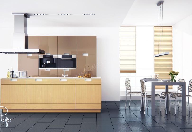 Кухня в стиле модерн Miele