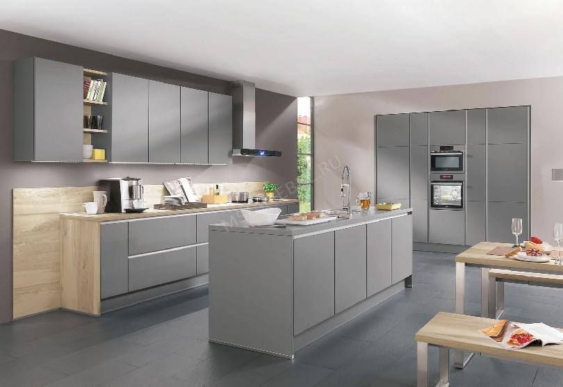 Фото Кухня Nobilia островного типа