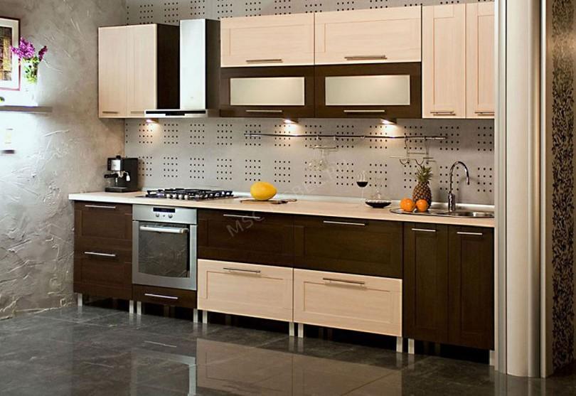 Фото Кухня из массива дерева «Лазурит»