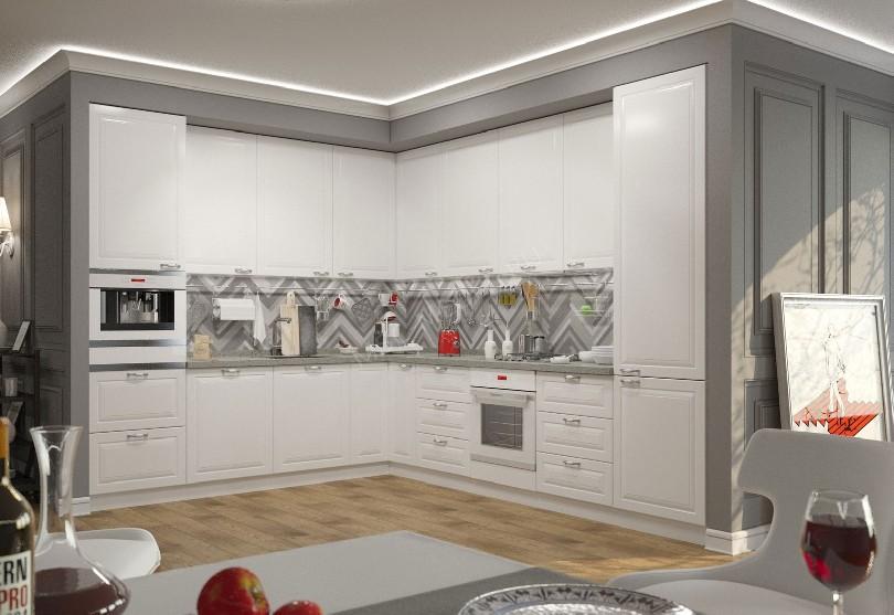 Фото Кухня в скандинавском стиле «Дорс»
