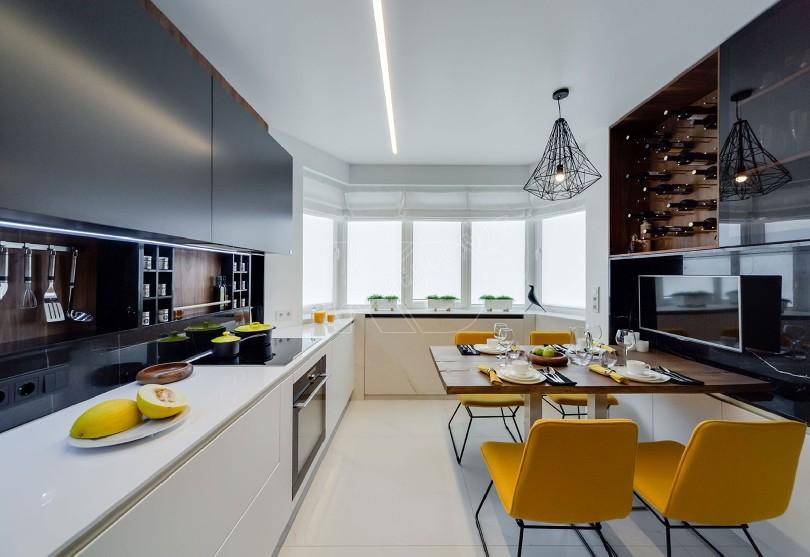 Фото Кухня Net с большим окном