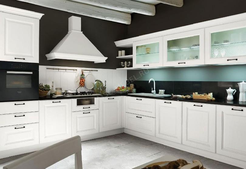 Фото Кухня «Лагуна» из массива березы