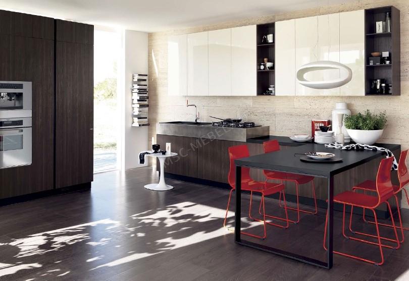 Фото Кухня в стиле минимализм «Нет»