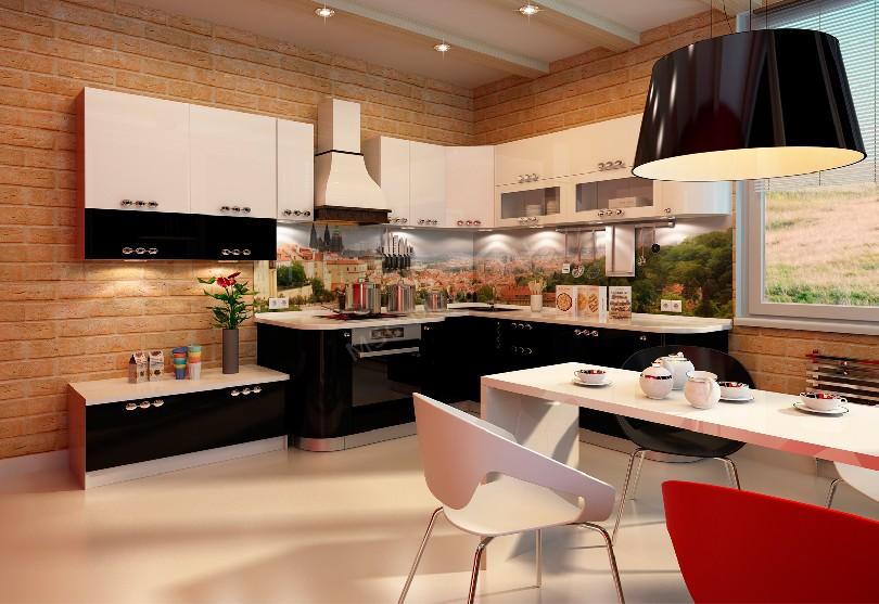 Фото Модерн кухня «Прага»