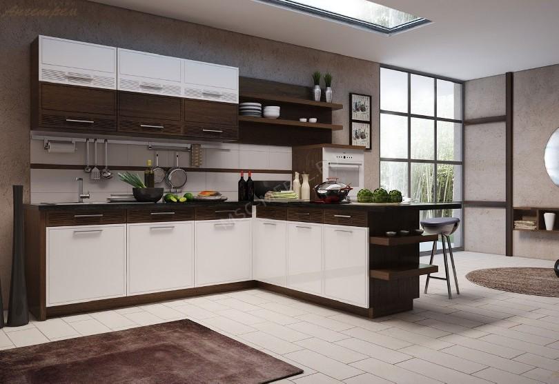 Фото Кухня в скандинавском стиле «Ангстрем»