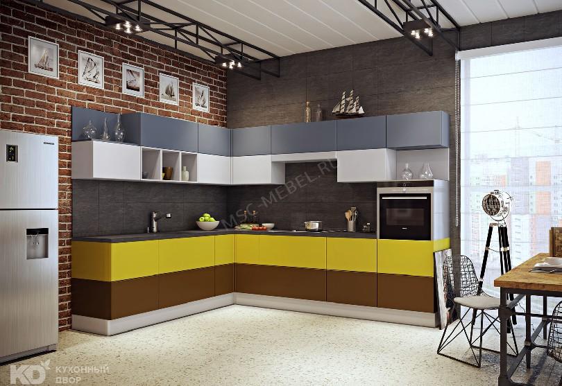 Фото Кухня Двор в стиле лофт